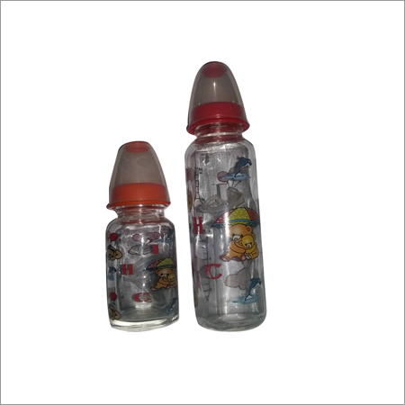 Baby Glass Feeder Bottles