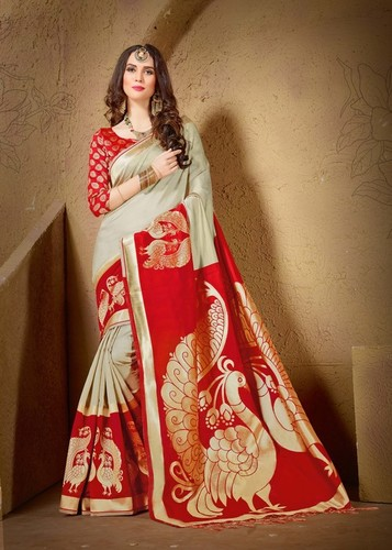 Heavy Designer Silk Saree