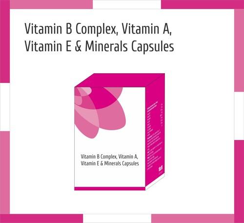 Vitamin B Complex, Vitamin A, Vitamin E & Minerals Capsules