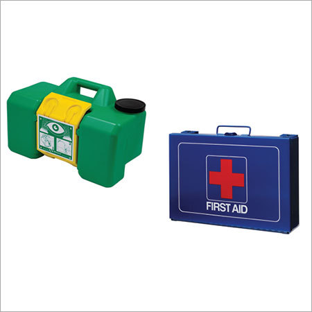 Eye Wash & First Aid Kit