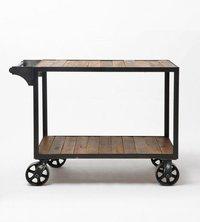 Industrial Wooden Trolley