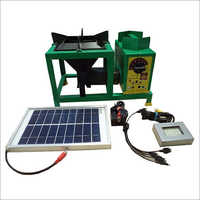Biomass Magic Stove with Solar Charging