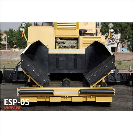 Wheel Mounted Hydrostatic Paver Finisher