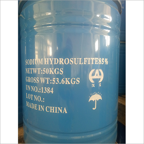 53.6 kgs Sodium Hydrosulfite 85%