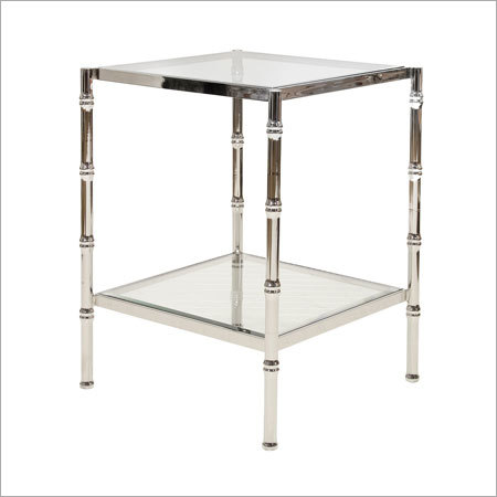Nickel Plated Antique Table