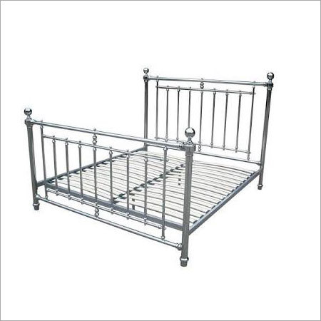 Nickel Plated Iron Bed