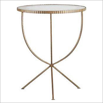 Brass Plated Antique Table