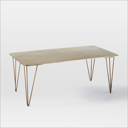 Brass Plated Coffee Table