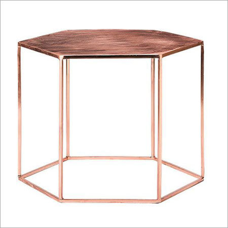 Copper Plated Hexa Table