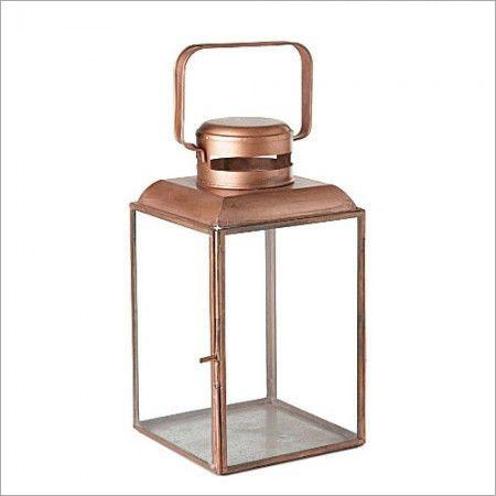 Copper Plated Lantern