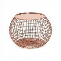 Copper Plated Tray Table