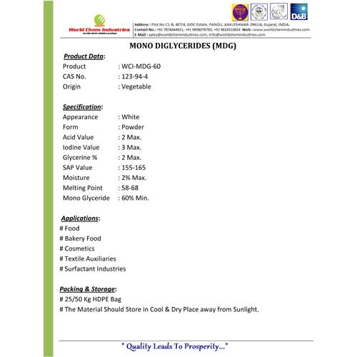 Mono DiGlyceride-60