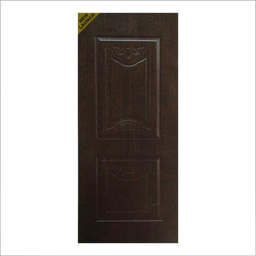 Melamine Square Two Panel Door