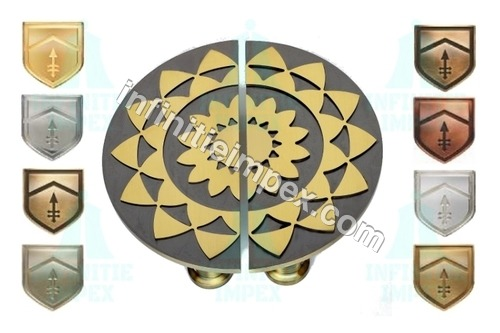 Creative Design Circle Brass Knob
