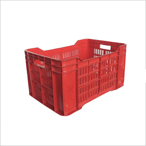 Red Plastic Fruit Crates