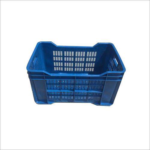 Blue Plastic Fruit Crates
