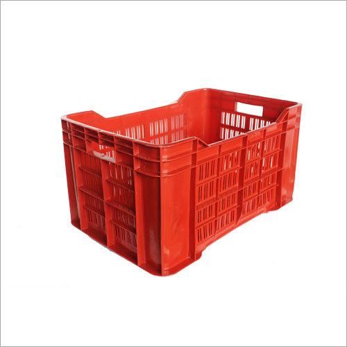 Red Plastic Vegetable Crates