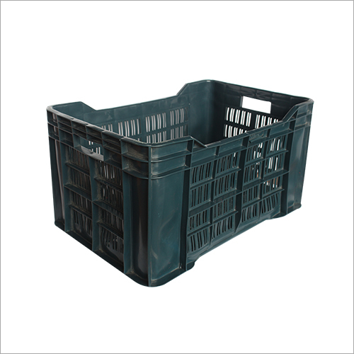 Blue HD Plastic Vegetable Crates