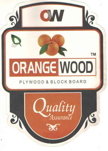 Orange Wood Plywood