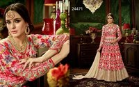 Colouring Heavy designed Anarkali Suit