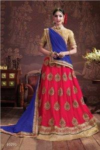 Bridal Wear Red Designer Lehenga