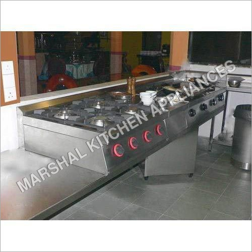 Hotel Kitchen Gas Range