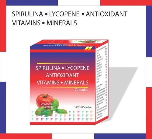 Spirulina, Lycopene, Antioxidant, Vitamins, Minara