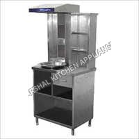 2 Burner Shawarma Machine