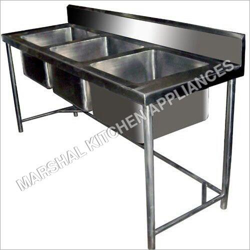 Wash Basine 3 Sink Unit
