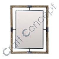 Metal Rectangle Mirror