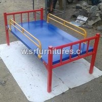 Colorful Strong Iron Cot Bed
