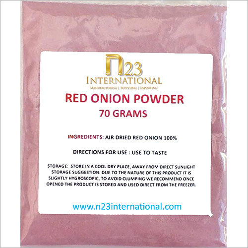 Dehydrated Red Onions Powder