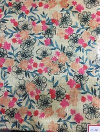 Makhmali Digital Prints Fabric