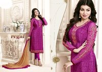 Bollywood Replica Purple Churidar Suit
