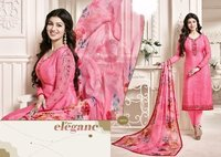 Replica Pink Designer Churidar Suit