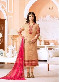 Bollywood Replica Party Wear Churidar Suit