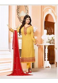 Bollywood Replica Yellow Churidar Suit