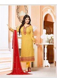 Bollywood Replica Yellow Churidar Suit