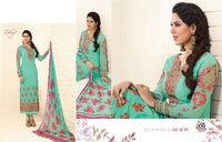 hand Work Designer Churidar Suit