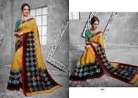 Double Designed Printed Saree