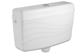Centre Push Toilet Flushing Cistern