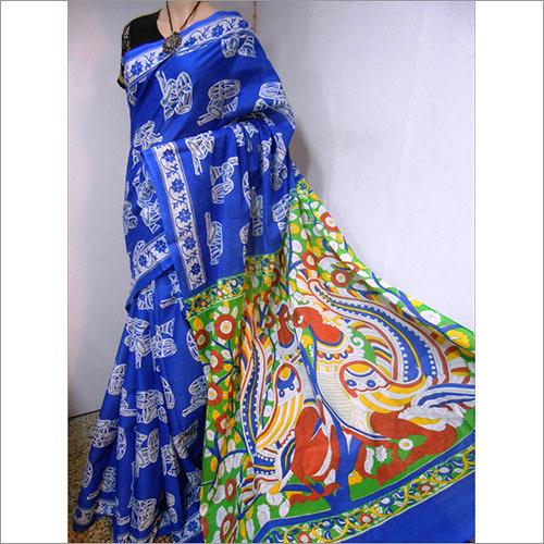 Cotton Block Printed Saree