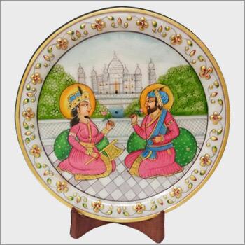 Decorative Marble Thali