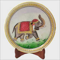 Marble Painted Thali