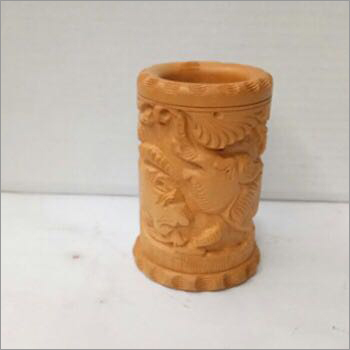 Decorative Wooden Carved Pestle
