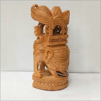 Decorative Wooden Carved Statue