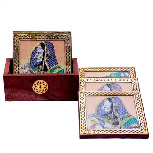 Decorative Printed Tea Coaster