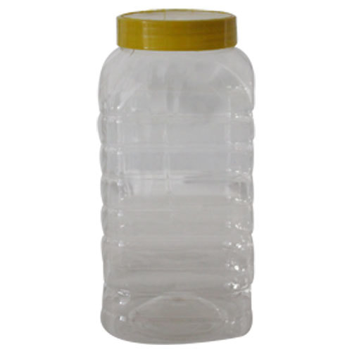 Transparent Plastic Jar