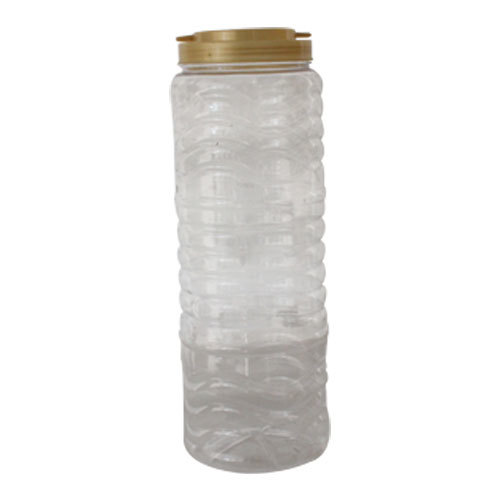 Clear Plastic Jar