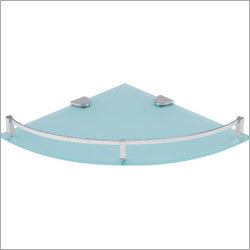 Bathroom Corner Glass Shelf Bracket